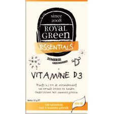 120 tabletten Royal Green Vitamine D3