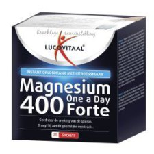 20 sachets Lucovitaal Magnesium 400 Forte One a Day