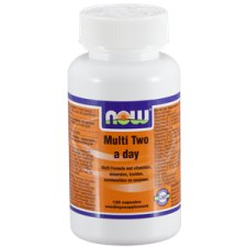 120 capsules NOW Foods Multi Two a day