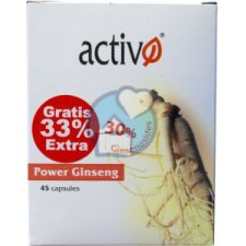 45 capsules Activo Power Ginseng