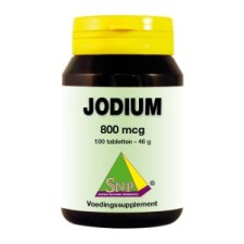 100 tabletten SNP Jodium 800 mcg