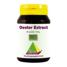 30 capsules SNP Oester Extract