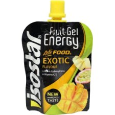 90 gram Isostar Fruit Gel Energy Exotic Flavour