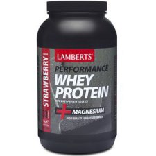 1000 gram Lamberts Performance Whey Protein Strawberry