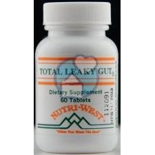 60 tabletten Nutri West Total Leaky Gut