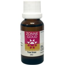 20 ml Zonnegoud Tea Tree Etherische Olie