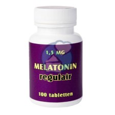 100 tabletten Enra Melatonine Regulair 1,5 mg