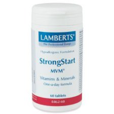 60 tabletten Lamberts StrongStart MVM