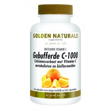 60 tabletten Golden Naturals Gebufferde C-1000