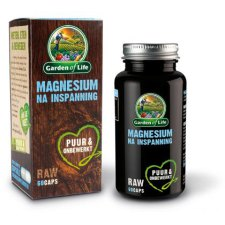 60 capsules Garden of Life Magnesium na Inspanning