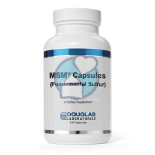 90 capsules Douglas Laboratories MSM Capsules (Fundamental Sulfur)