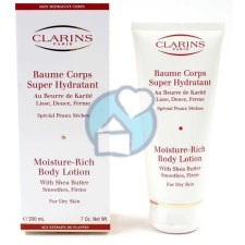 200 ml Clarins Baume Corps Super Hydratant