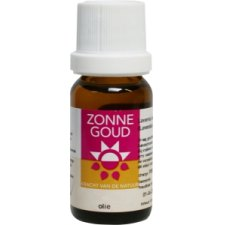 10 ml Zonnegoud Sinaasappel Etherische Olie