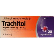 20 tabletten Engelhard Trachitol