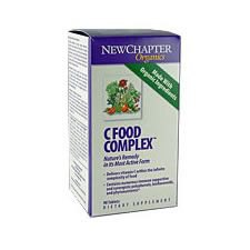 90 tabletten NewChapter Vitamine C Food Complex