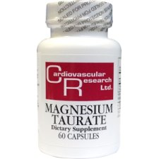 60 capsules Cardiovascular Research Ltd Magnesium Taurate