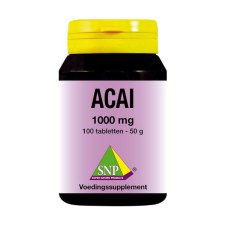 100 tabletten SNP Acai 1000 mg
