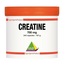 240 capsules SNP Creatine 700 mg