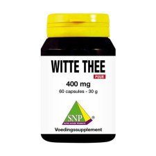 60 capsules SNP Witte Thee 400 mg PUUR