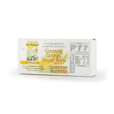 20 ampullen The Herborist Ginseng Ginkgo Royal Jelly