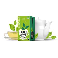 20 builtjes Clipper Pure Organic Green Tea Biologisch