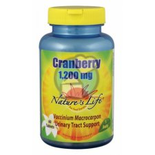 60 tabletten Nature's Life Cranberry 1200 mg