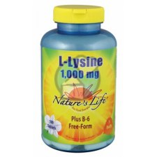 100 tabletten Nature's Life L-Lysine 1000 mg
