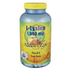 250 tabletten Nature's Life L-Lysine 1000 mg