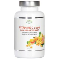 50 tabletten Nutrivian Vitamine C 1000 Calcium Ascorbaat