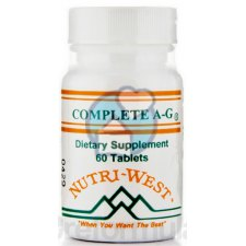 60 tabletten Nutri West Complete A-G