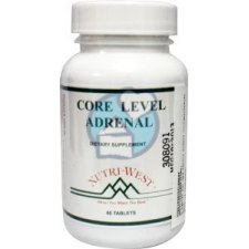 60 tabletten Nutri West Core Level Adrenal