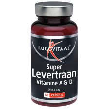 120 capsules Lucovitaal Super Levertraan