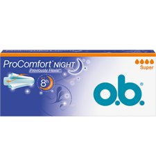 16 stuks Ob Tampons ProComfort Night Super
