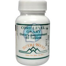 60 tabletten Nutri West Core Level Ovary
