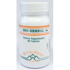 60 tabletten Nutri West DSF Herbal