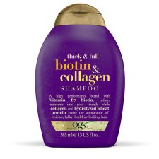 385 ml Organix Thick & Full Biotin & Collagen Shampoo