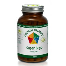 90 tabletten Essential Organics Super B-50 Complex