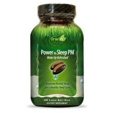 60 softgels Irwin Naturals Power to Sleep PM