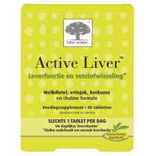 30 tabletten New Nordic Active Liver