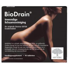 90 tabletten New Nordic BioDrain