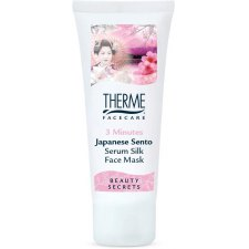 75 ml Therme Japanese Sento 3 Minutes Serum Silk Face Mask