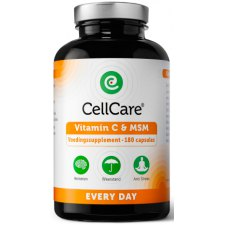 180 capsules CellCare Supplements Every Day Vitamin C & MSM
