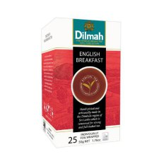 25 stuks Dilmah English Breakfast Tea
