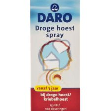 25 ml Daro Droge Hoest Spray