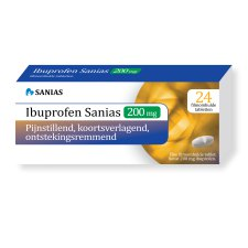 24 tabletten Sanias Ibuprofen 200 mg