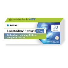 30 tabletten Sanias Loratadine 10 mg