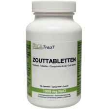 100 tabletten PhytoTreat Zouttabletten 1000 mg NaCl