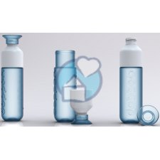 1 exemplaar Dopper Waterfles Cool Blue Blauw