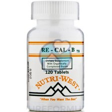 120 tabletten Nutri West Re-Cal B