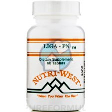 60 tabletten Nutri West Liga-PN